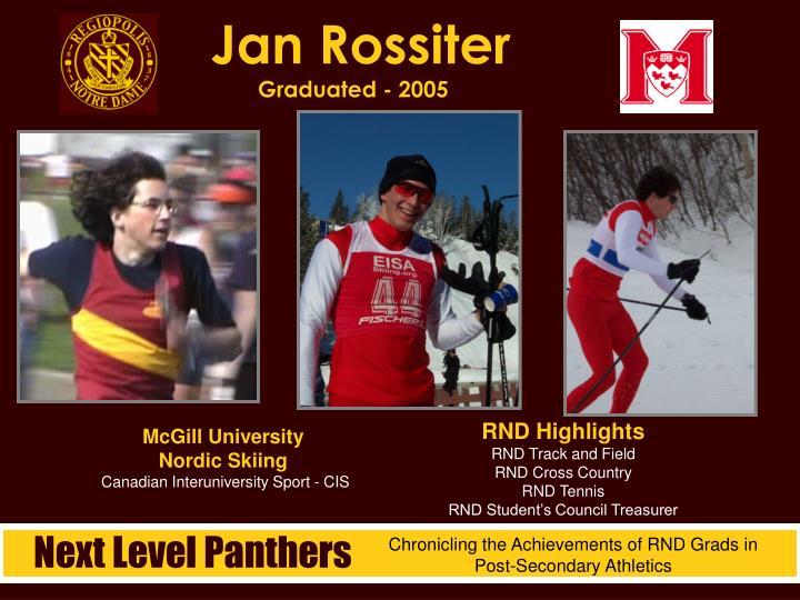 Jan Rossiter