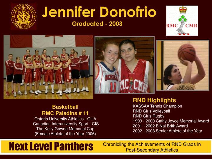 Jennifer Donofrio