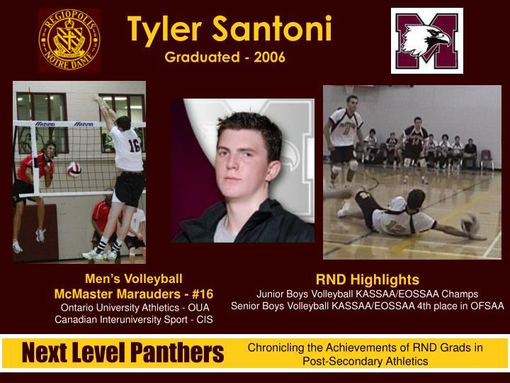 Tyler Santoni