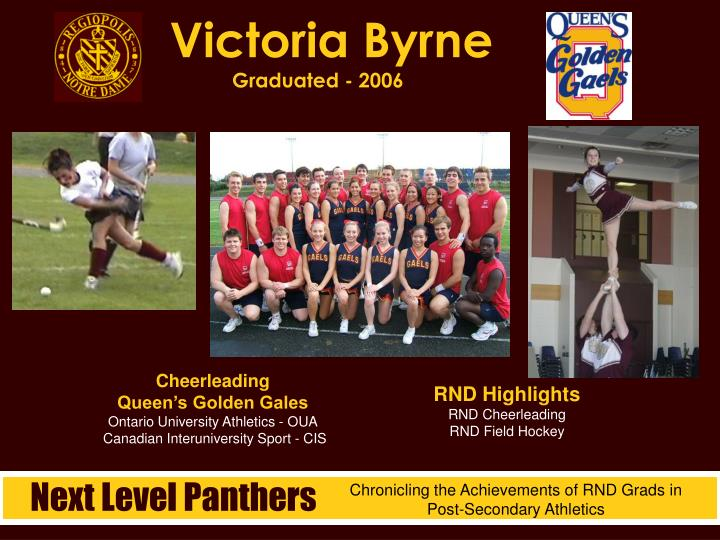 Victoria Byrne