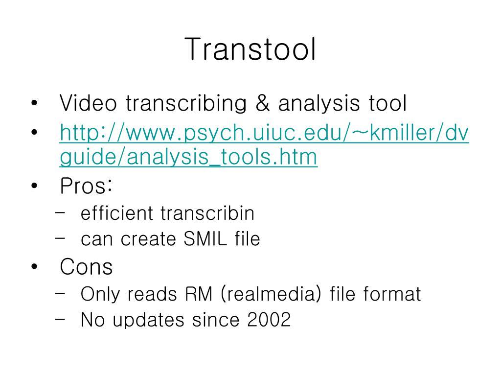 Transtool