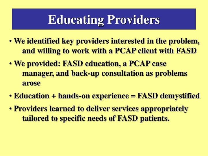 Educating Providers