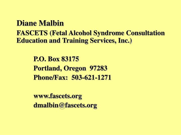 Diane Malbin