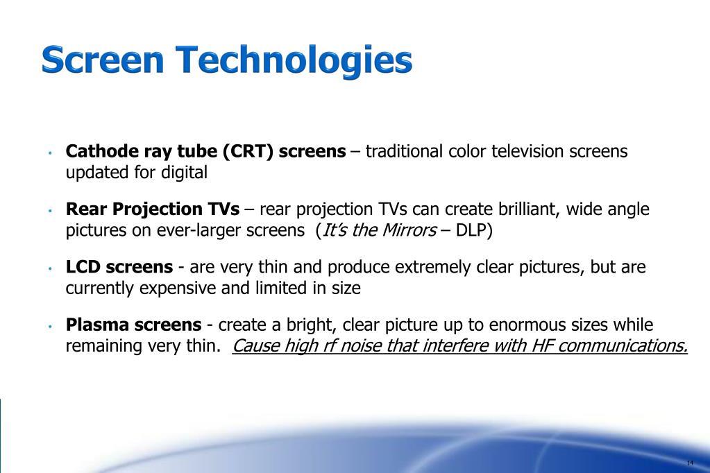 Screen Technologies