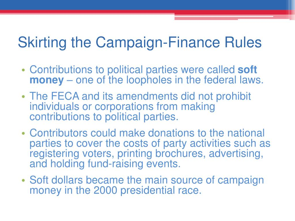 Skirting the Campaign-Finance Rules