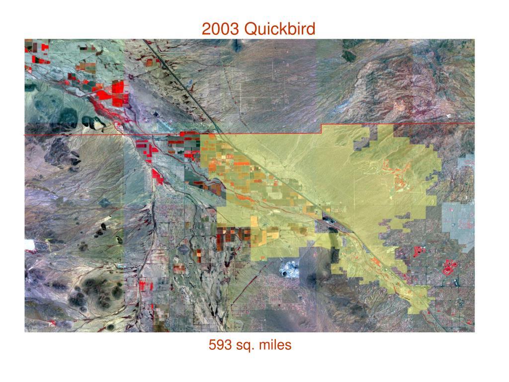2003 Quickbird