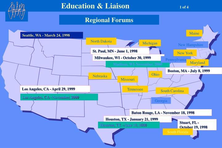 Education & Liaison