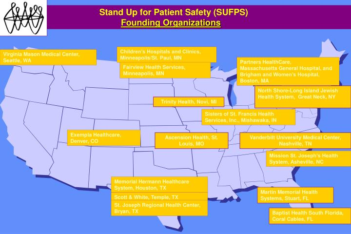 Stand Up for Patient Safety (SUFPS)