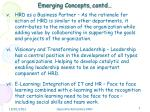 emerging concepts contd1