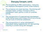 emerging concepts contd2