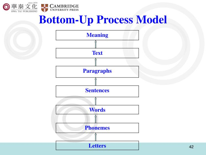Bottom-Up Process Model