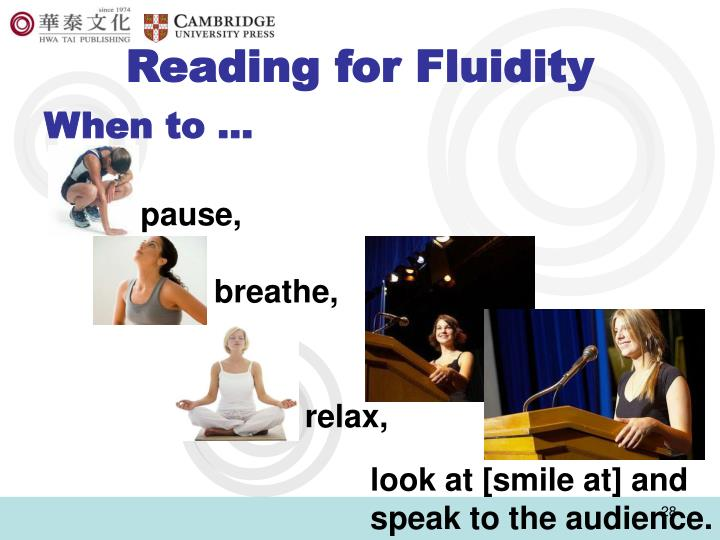 Reading for Fluidity