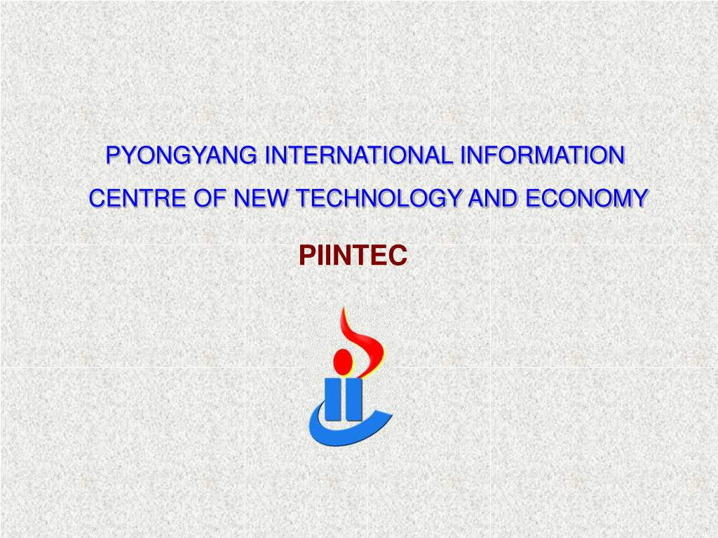 PYONGYANG INTERNATIONAL INFORMATION