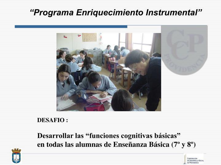 """""""Programa Enriquecimiento Instrumental"""""""