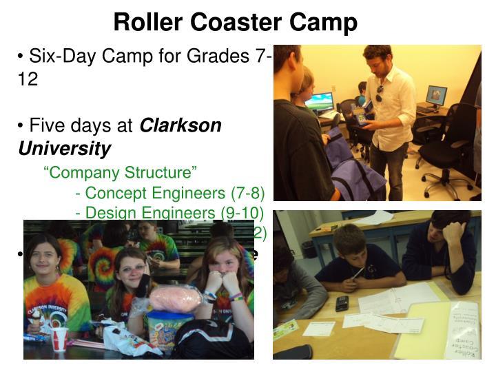 Roller Coaster Camp
