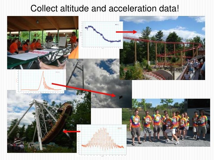 Collect altitude and acceleration data!