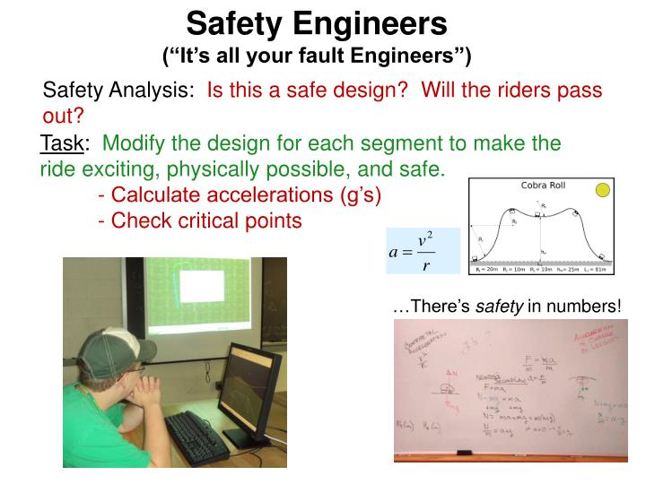 Safety Engineers