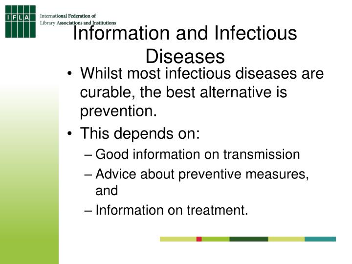 Information and Infectious Diseases