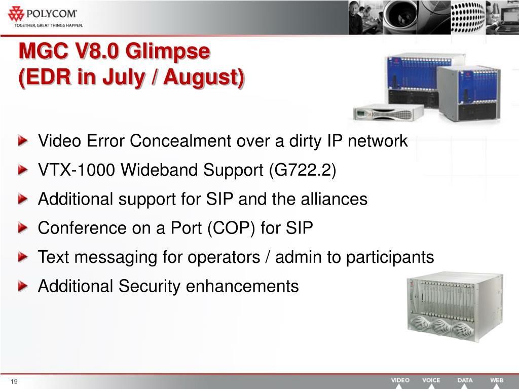 MGC V8.0 Glimpse