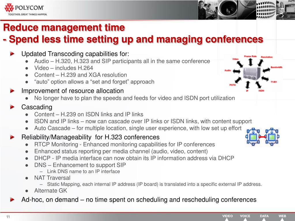 Reduce management time