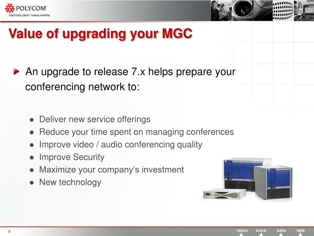 Value of upgrading your MGC