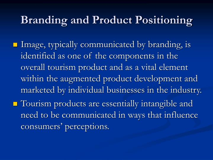 Branding and Product Positioning