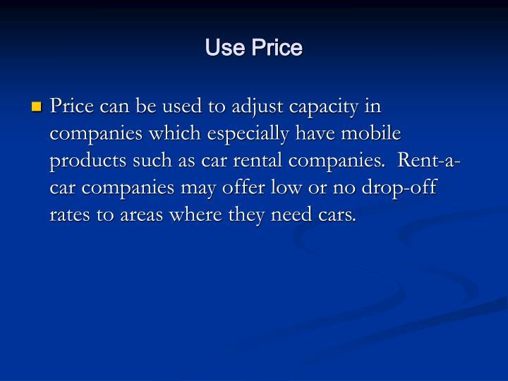 Use Price