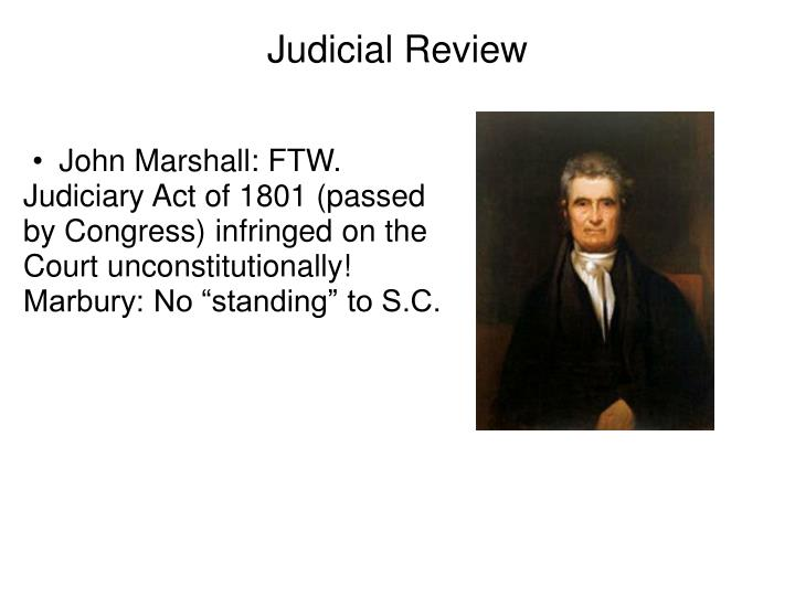 John Marshall: FTW.