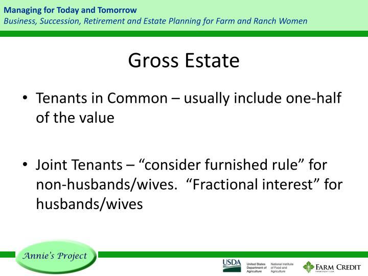 Gross Estate