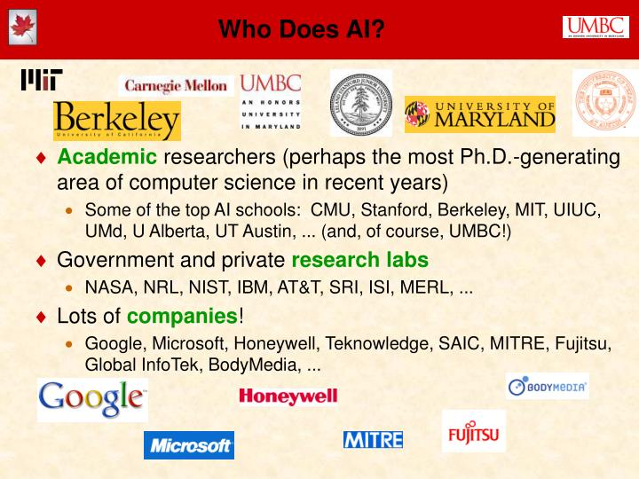 Who Does AI?