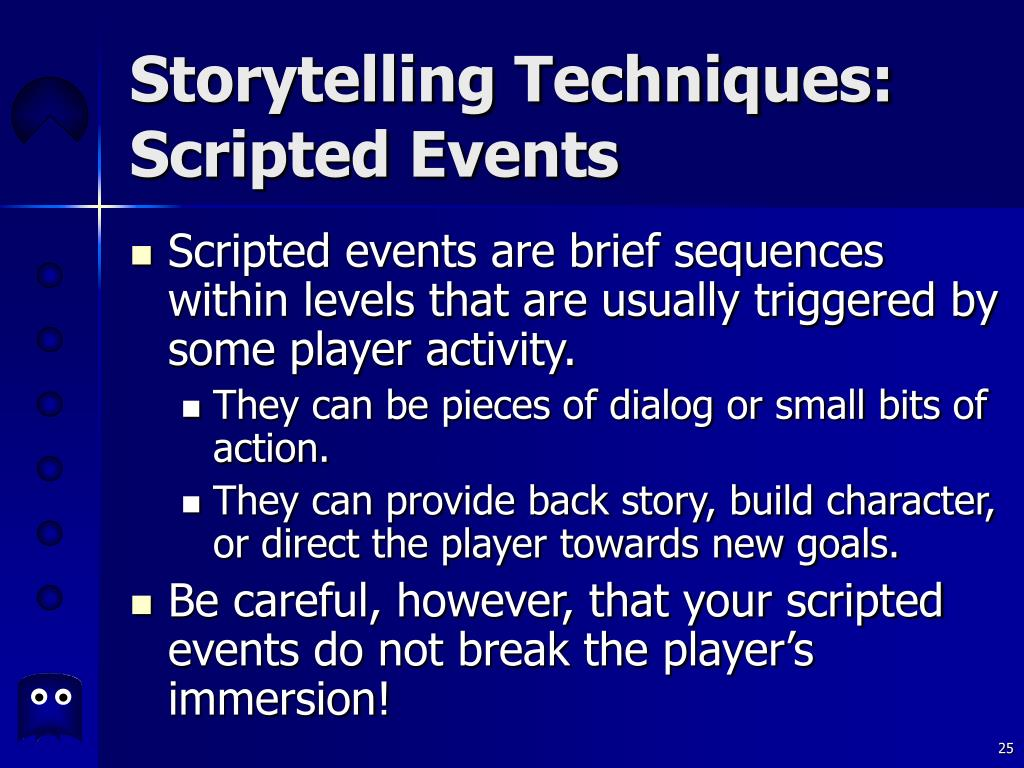 Storytelling Techniques: