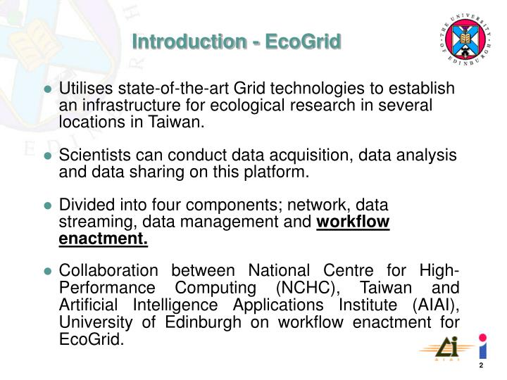 Introduction ecogrid