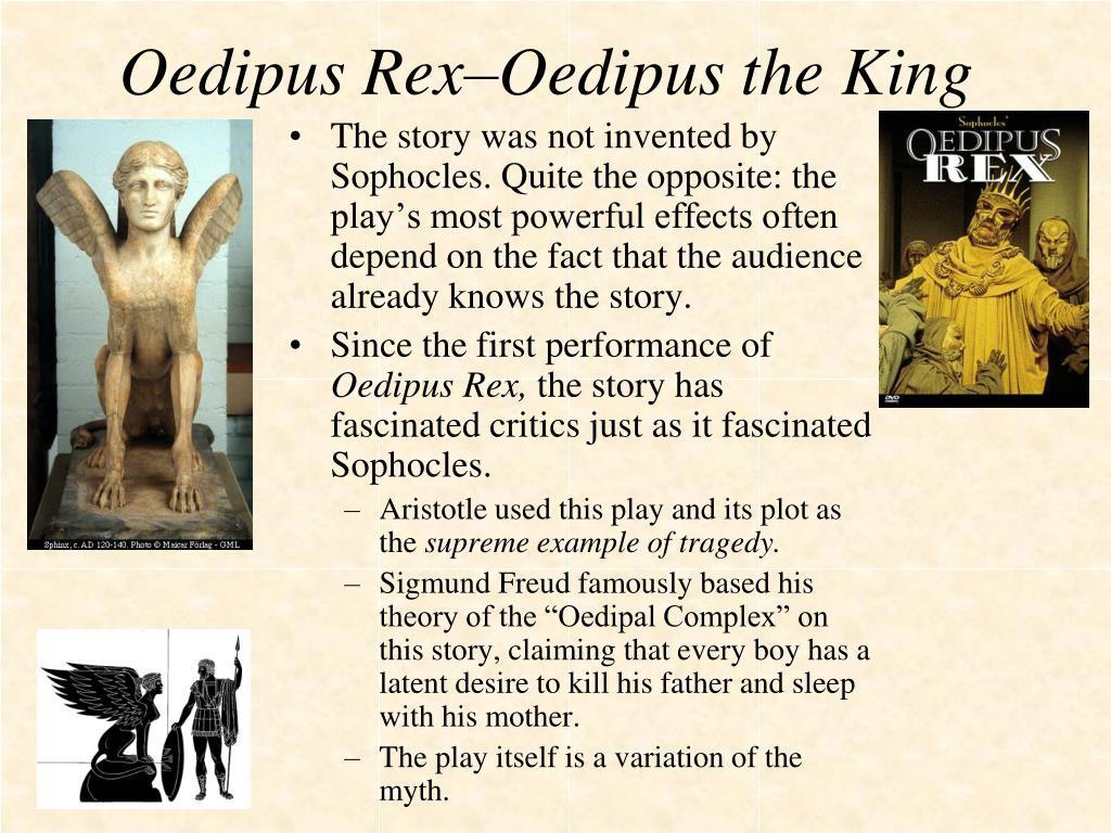 Oedipus Rex–Oedipus the King