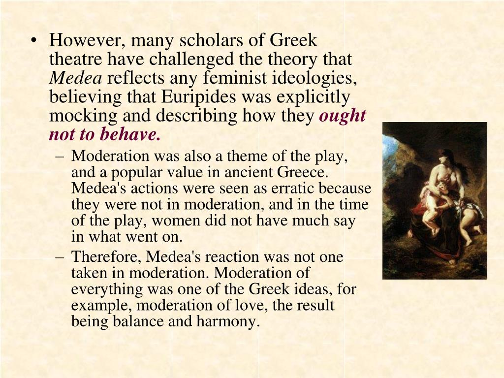 However, many scholars of Greek theatre have challenged the theory that