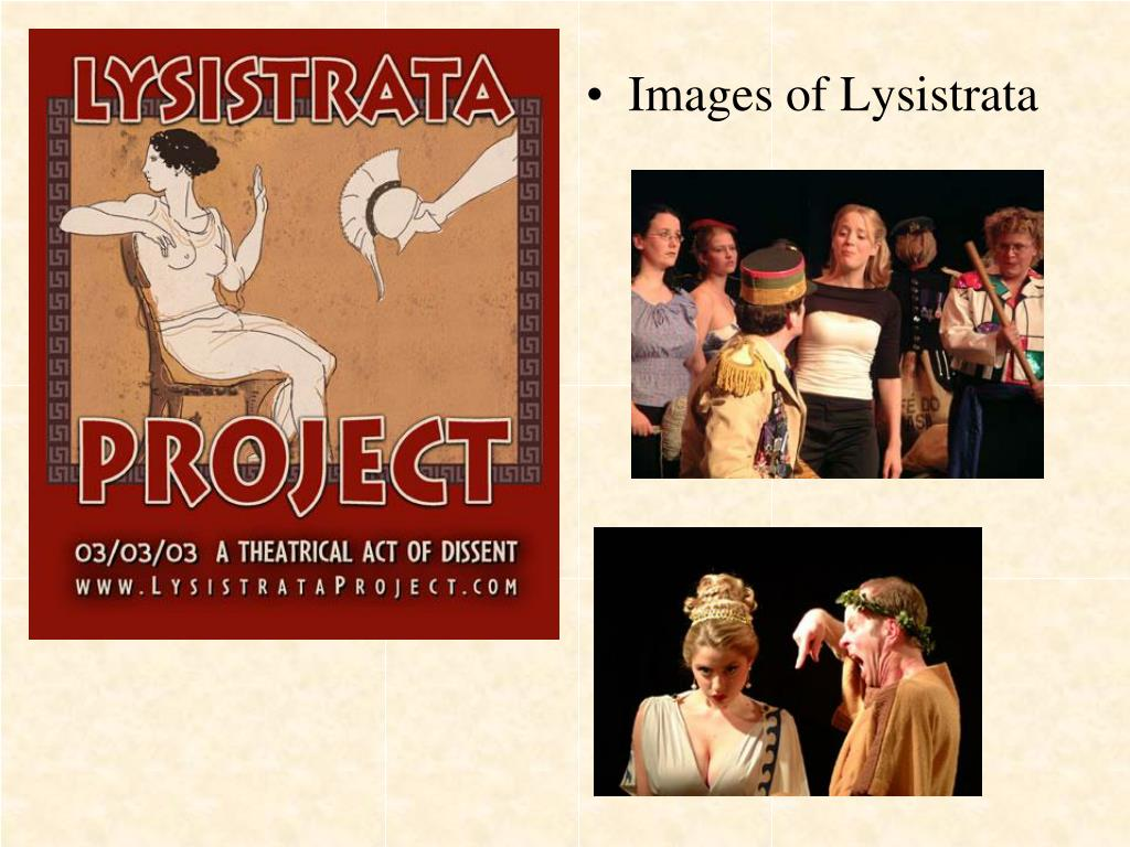 Images of Lysistrata