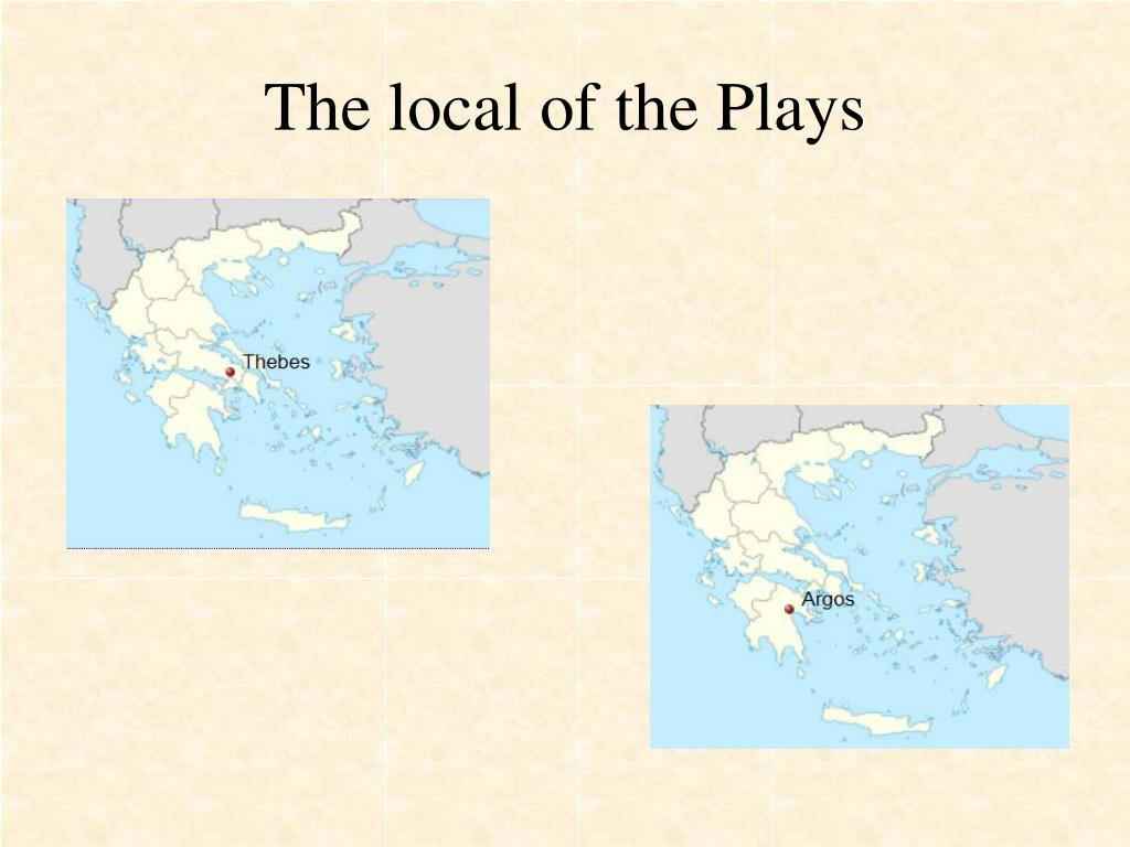 The local of the Plays