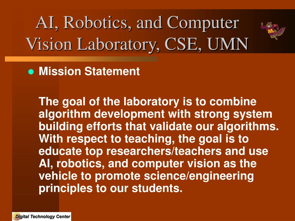 AI, Robotics, and Computer Vision Laboratory, CSE, UMN
