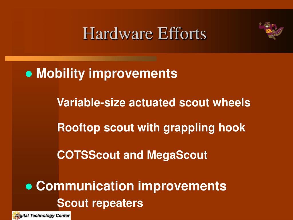 Hardware Efforts