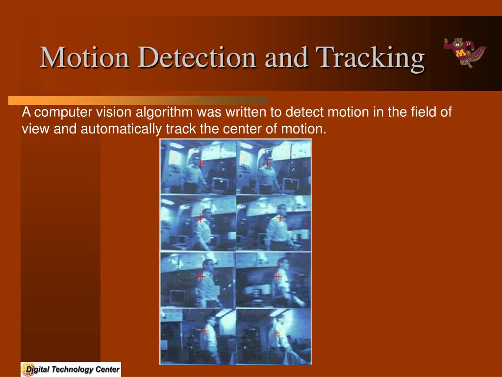 Motion Detection and Tracking
