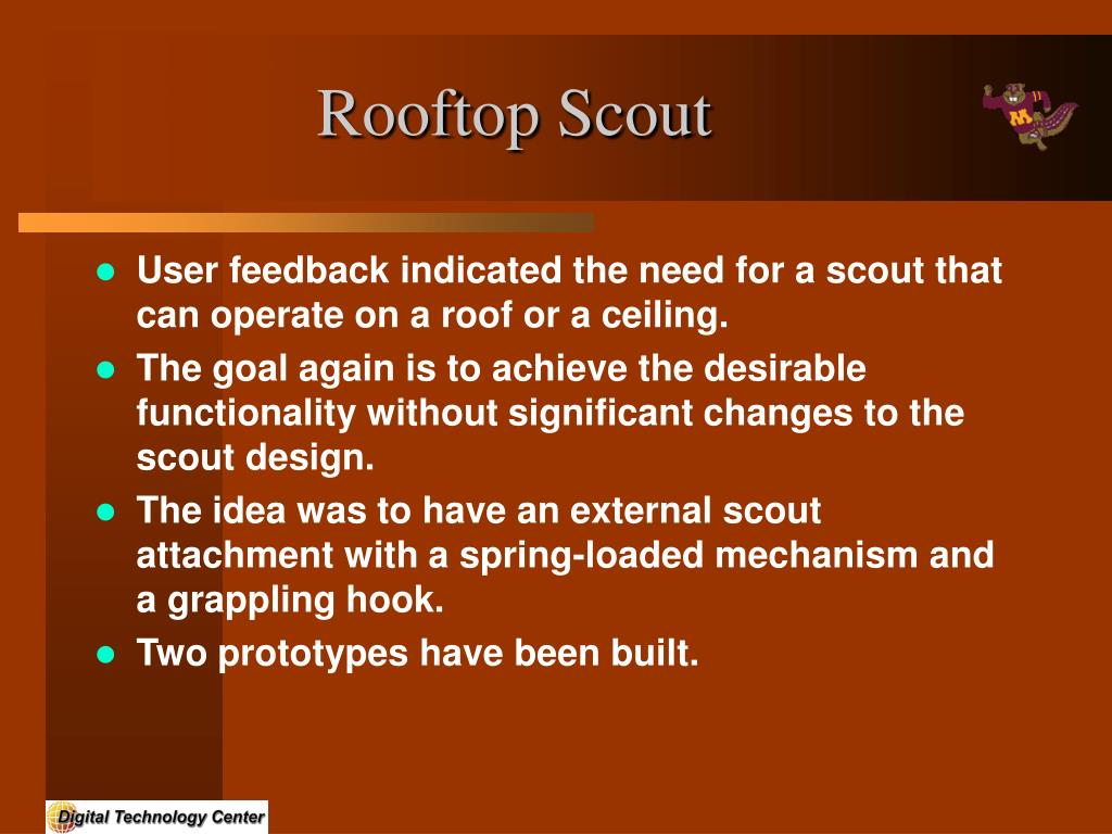 Rooftop Scout