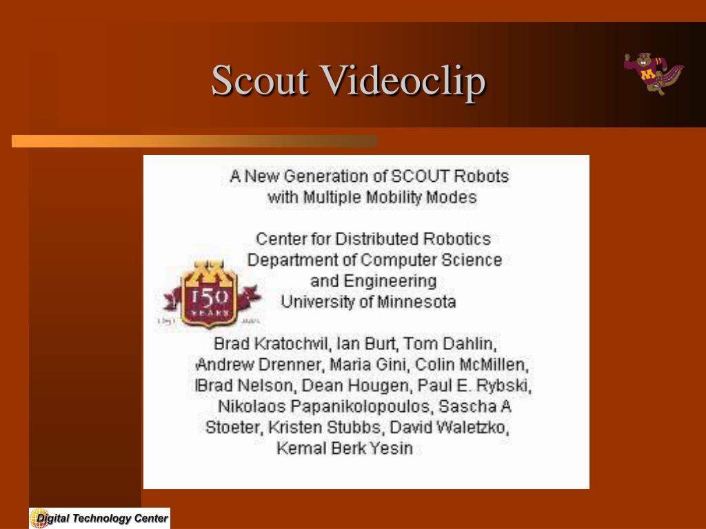Scout Videoclip
