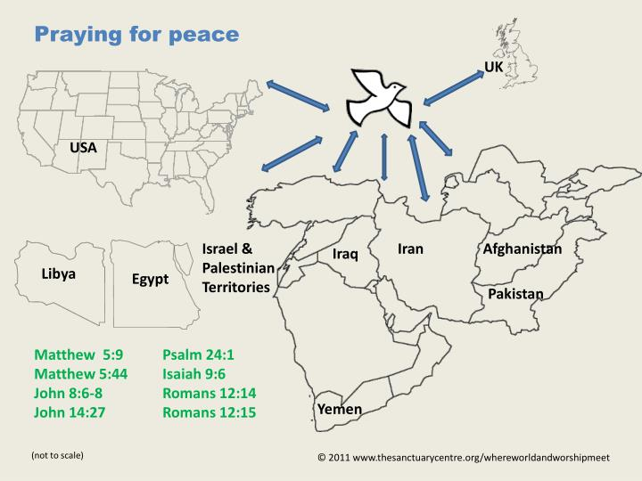 Praying for peace