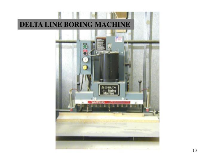 delta line boring machine used