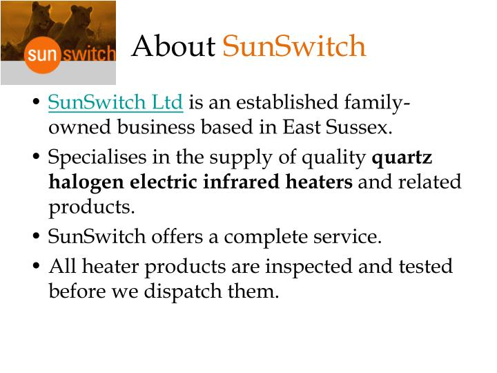 About sunswitch