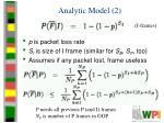 analytic model 2