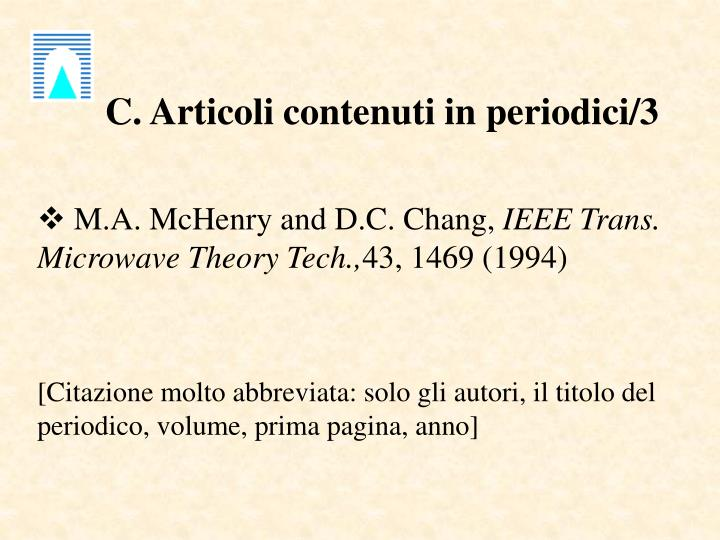 C. Articoli contenuti in periodici/3
