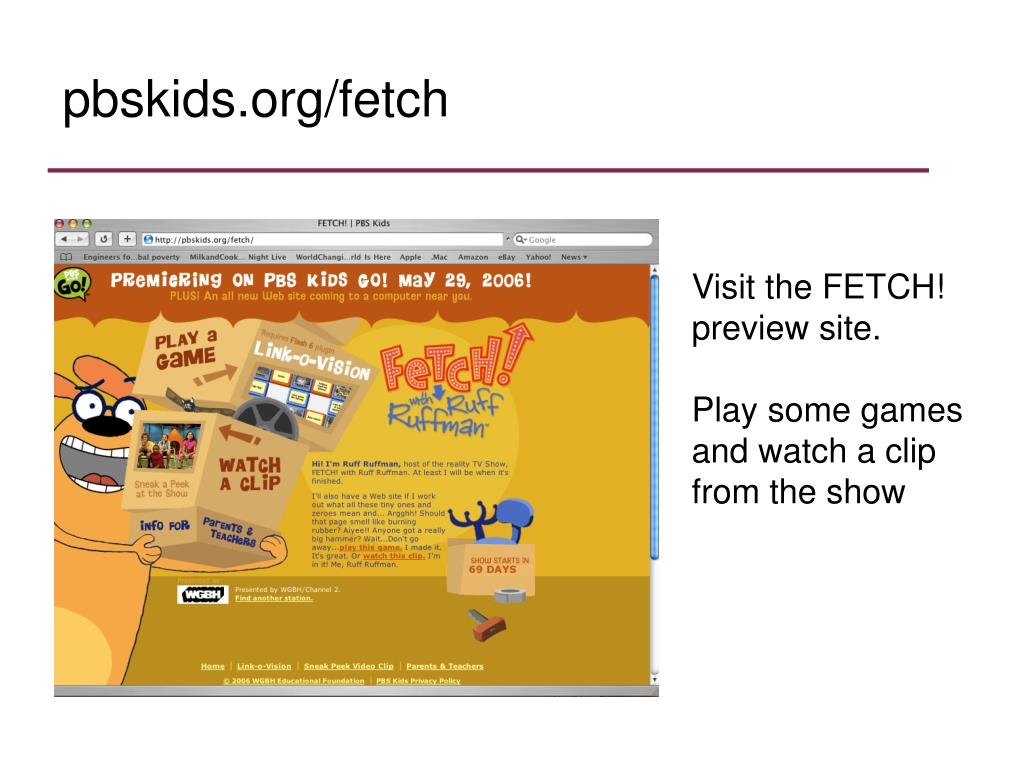 pbskids.org/fetch