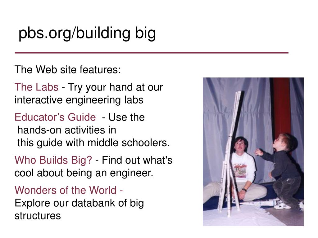 pbs.org/building big