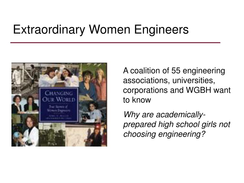 Extraordinary Women Engineers