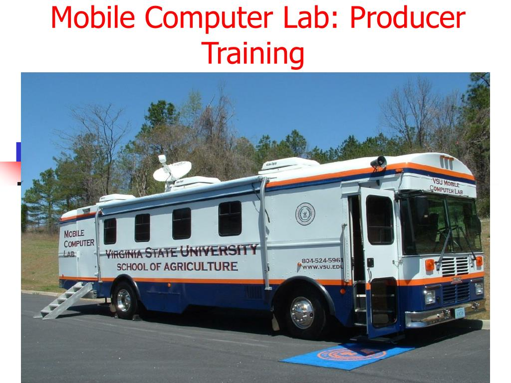 Mobile Computer Lab: Producer Training